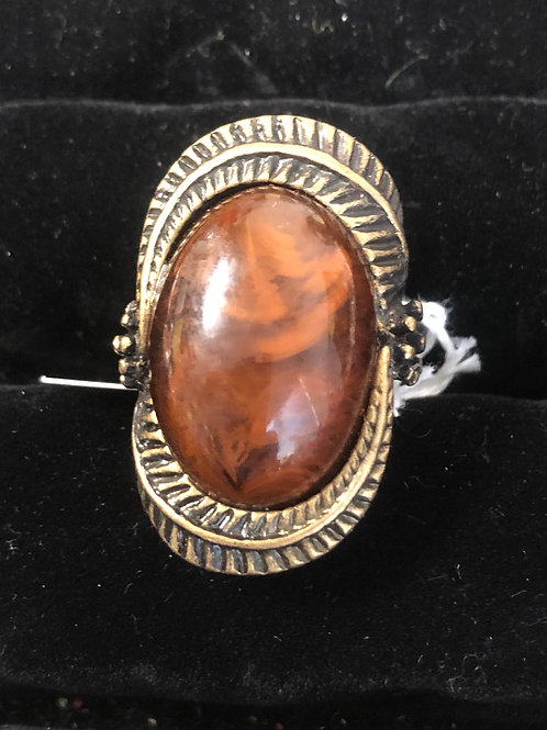 Antique Gold Brown Stone