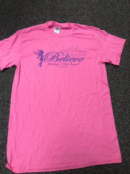 Believe Chelsey's 5k T-Shirt