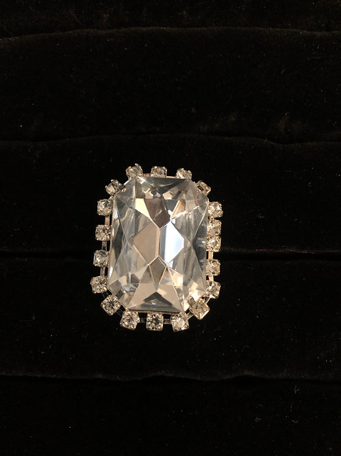 Rhinestone Ring size 6