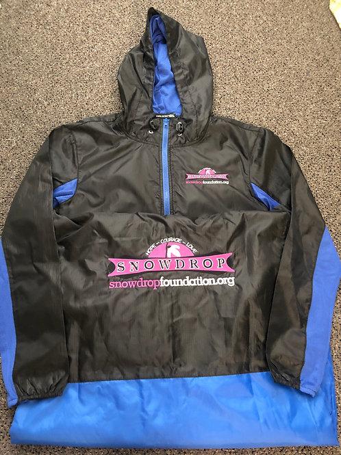 Embroidered Snowdrop Foundation Wind breaker/Rain Jacket