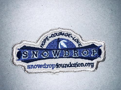 Snowdrop Iron on Patch
