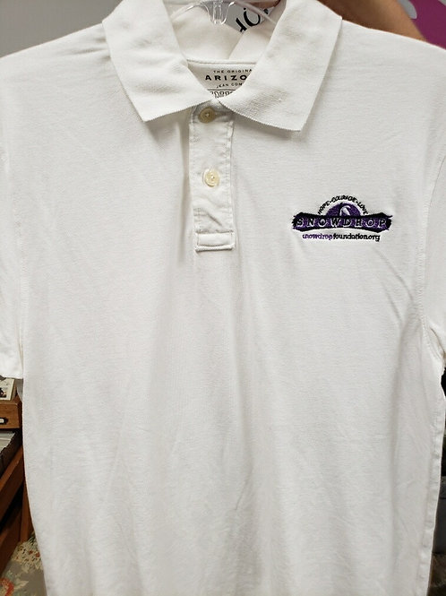 Embroidered  White Young men's Polo