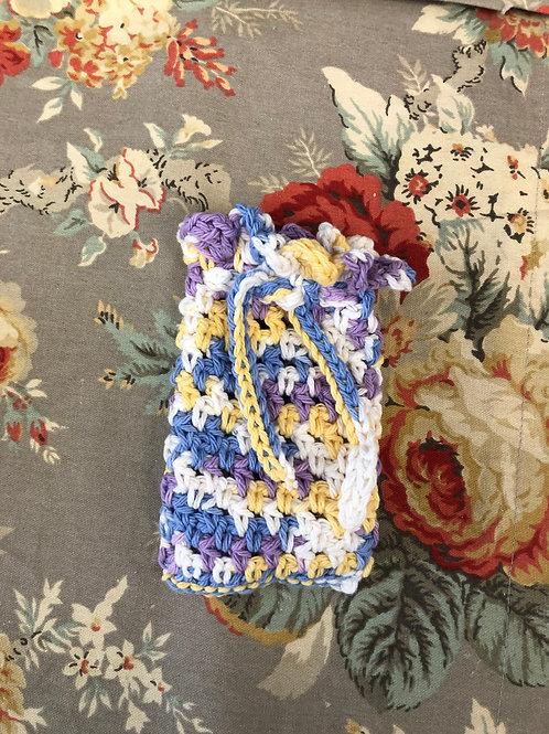 Multi  color Crochet Soap Saver