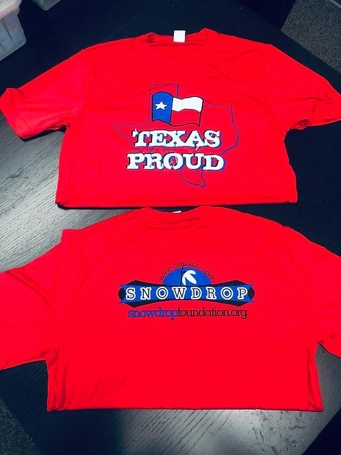 Team Texas Tek shirts