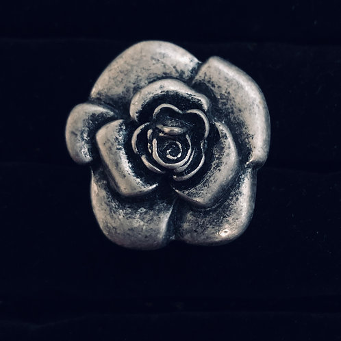 Antique finish Rose Ring