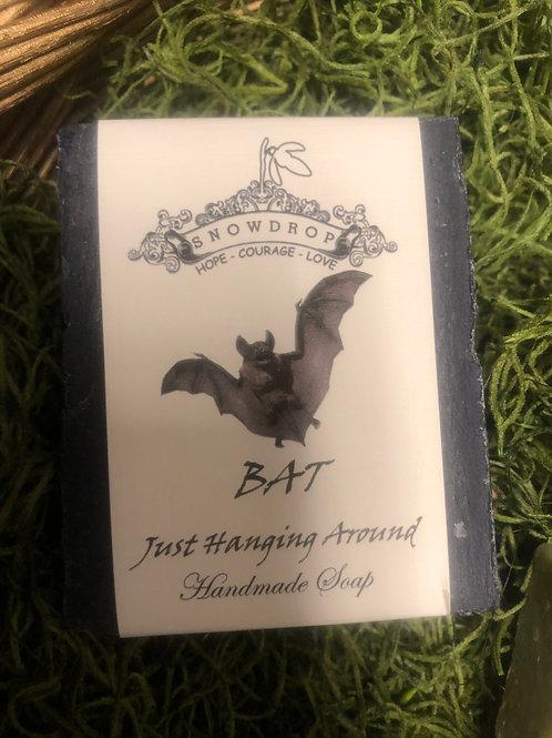 Just Hangin around Bat soap