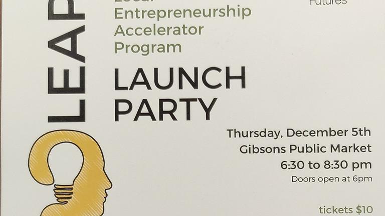 LEAP launch party