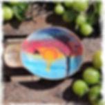 Sunset dish... Food safe + BPA free😀_In