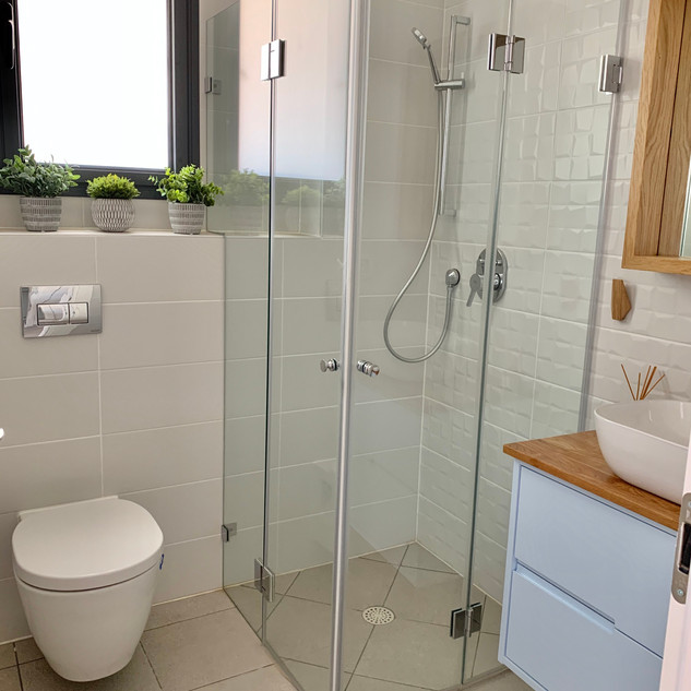 Shower and unit were added.