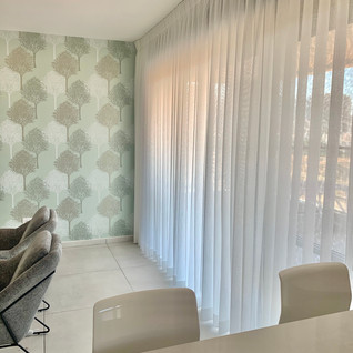 Givat Shmuel project. Beautifull curtain