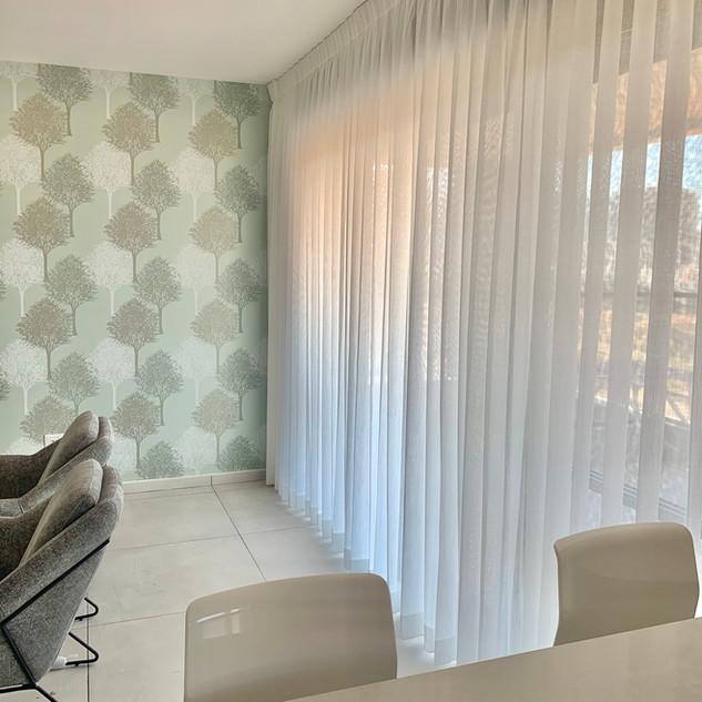 Givat Shmuel project. Beautifull curtain