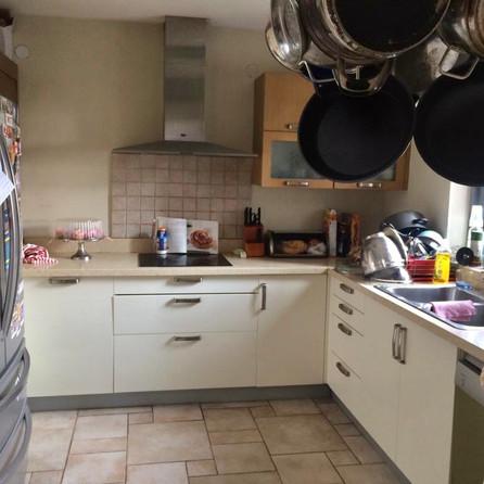 Before Photo Original Kitchen......