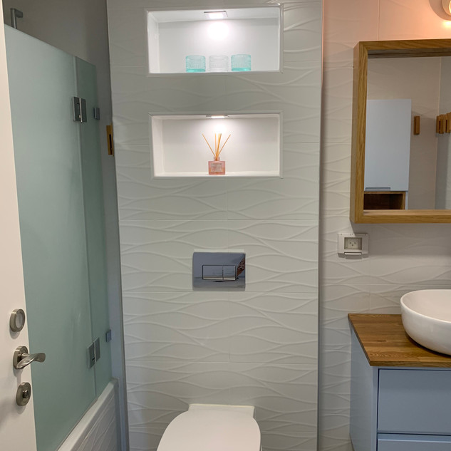 Guest Bathroom. Givat Shmuel project_