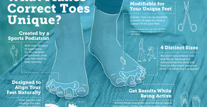 Correct Toes...why all toe separators are NOT the same!