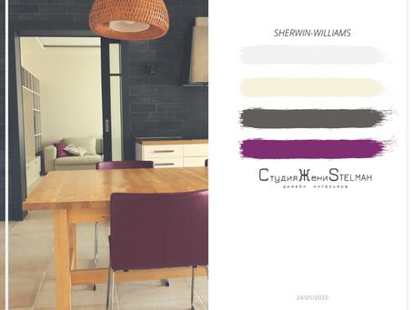 цвета для кухни-столовой