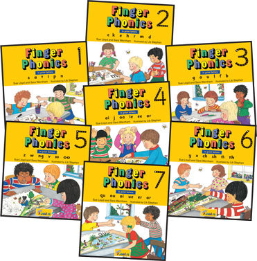 Finger Phonics Books 1-7 (PRINT EDITION)