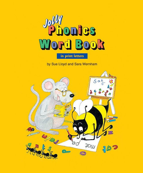 Jolly Phonics Word Book (PRINT EDITION)