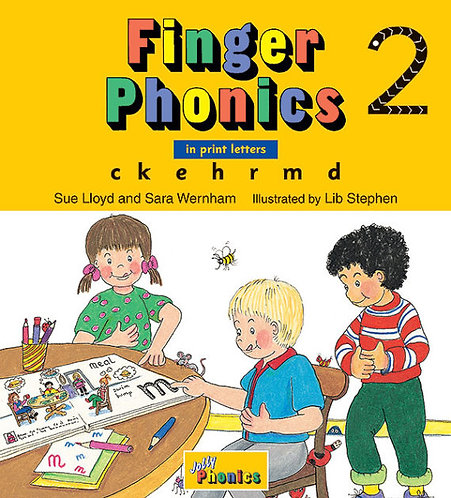 Finger Phonics Book 2 (PRINT EDITION)