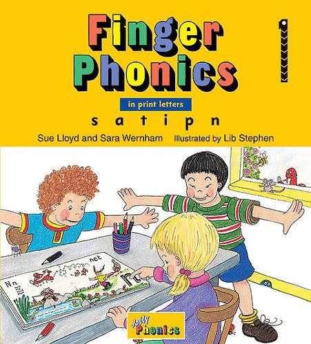 Finger Phonics Book 1 (PRINT EDITION)
