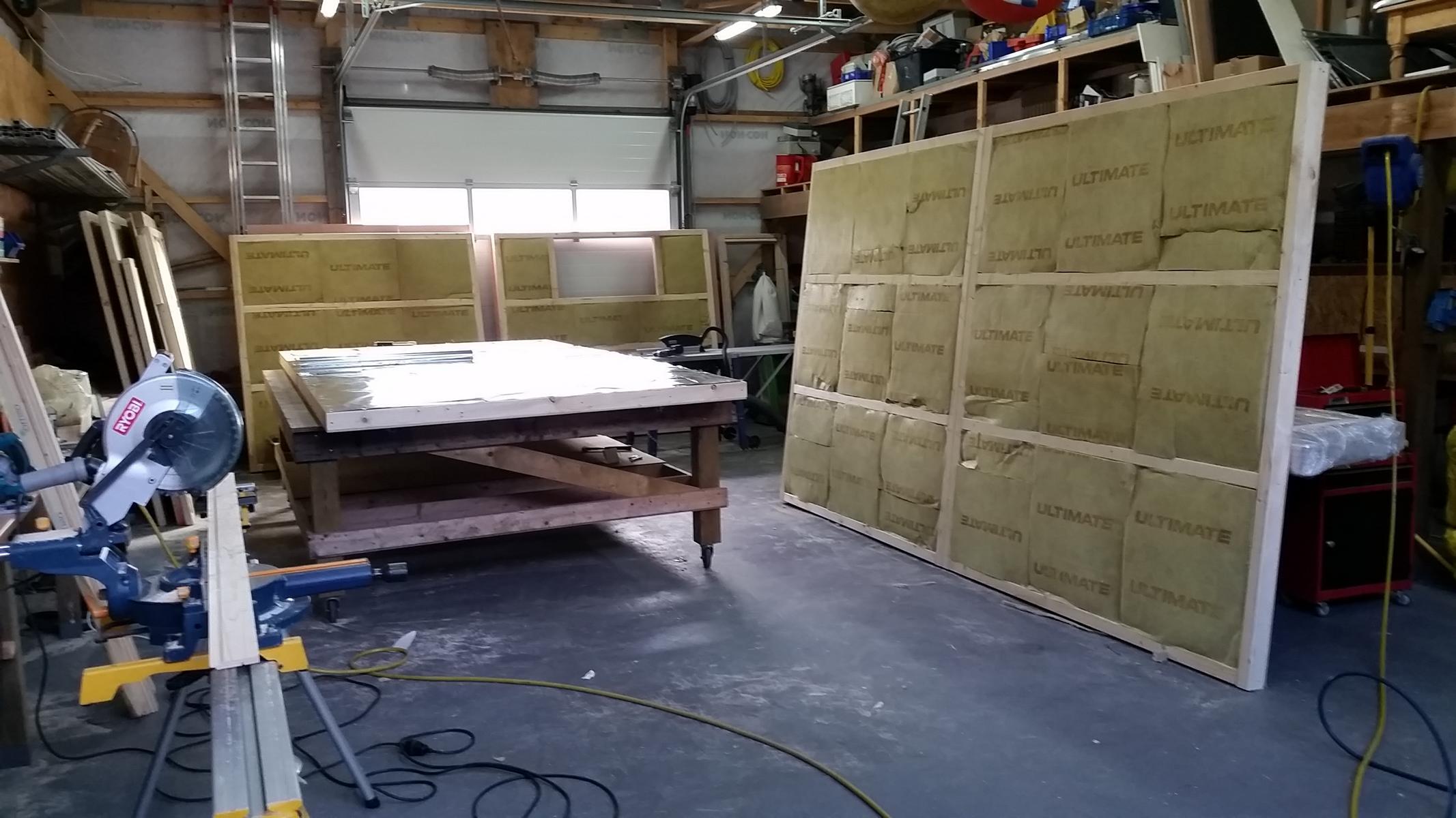 Sauna Fertigung