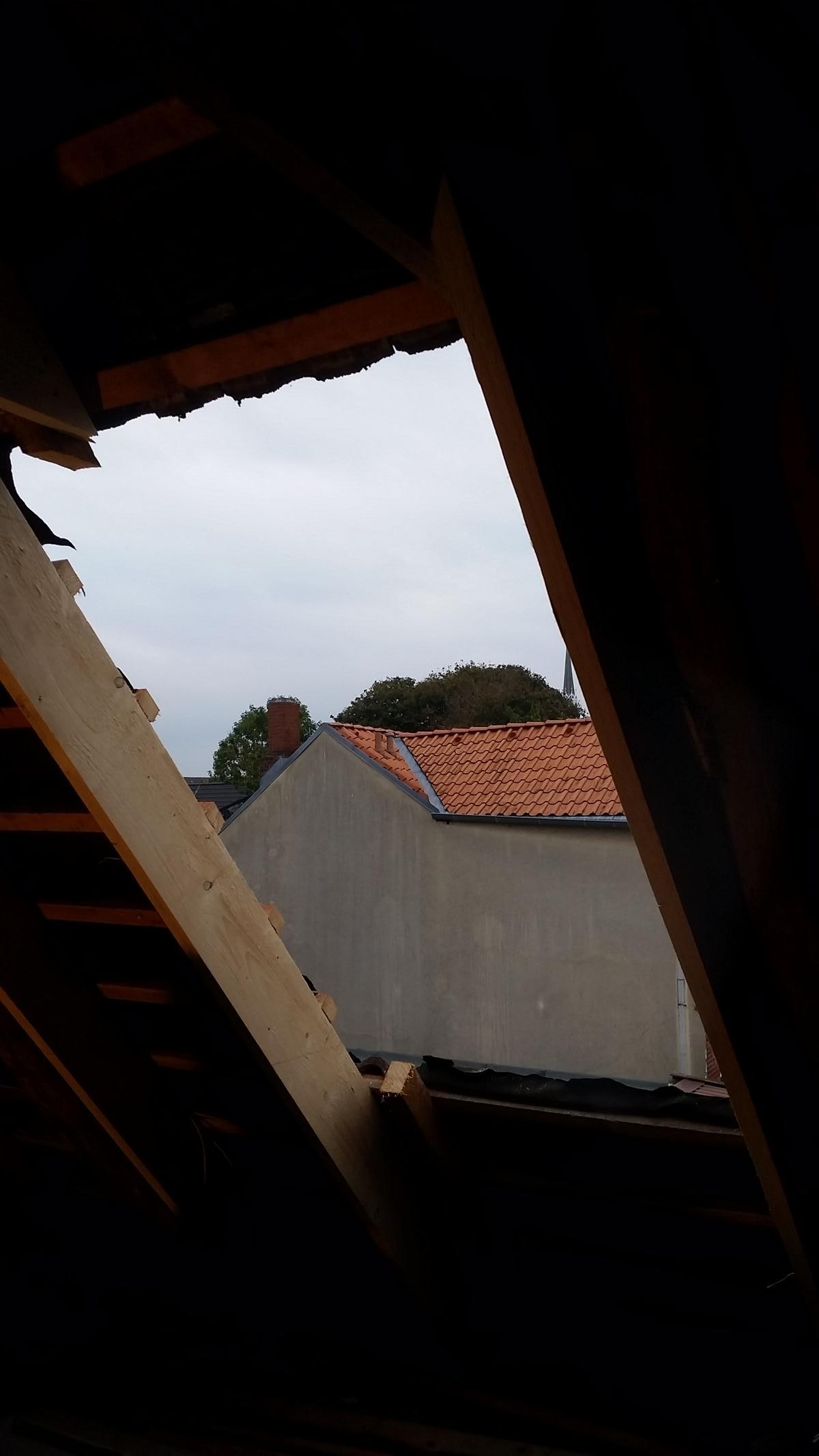Velux Fenster montieren