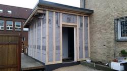 Unterkonstrukton Fassade