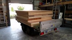 Sauna transportfertig