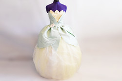 Disney Princess Tiana Inspired Gown