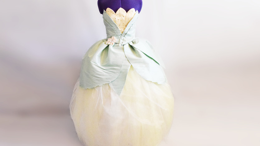 DISNEY INSPIRED PRINCESS TIANA DRESS