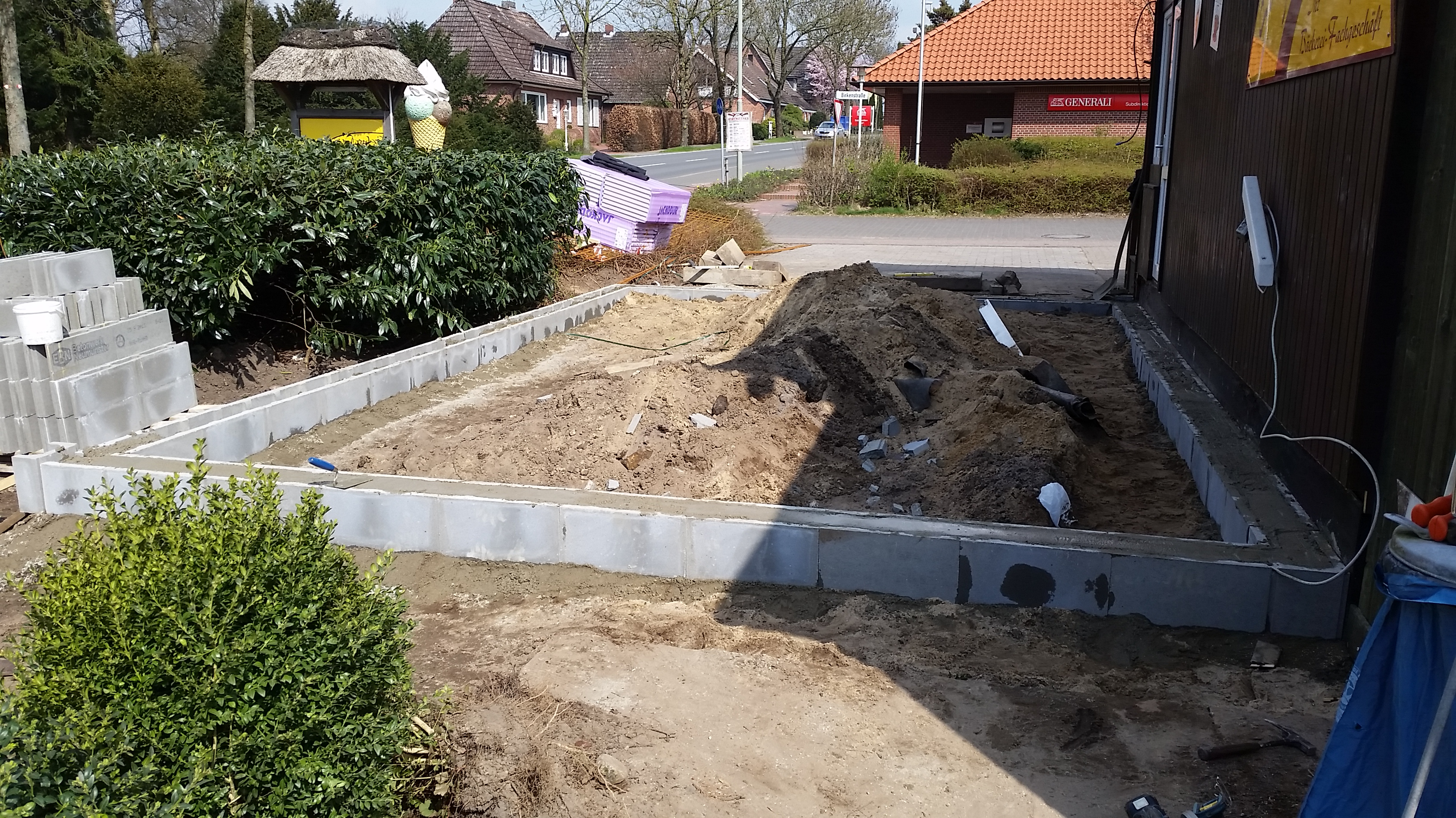 Fundament Anbau