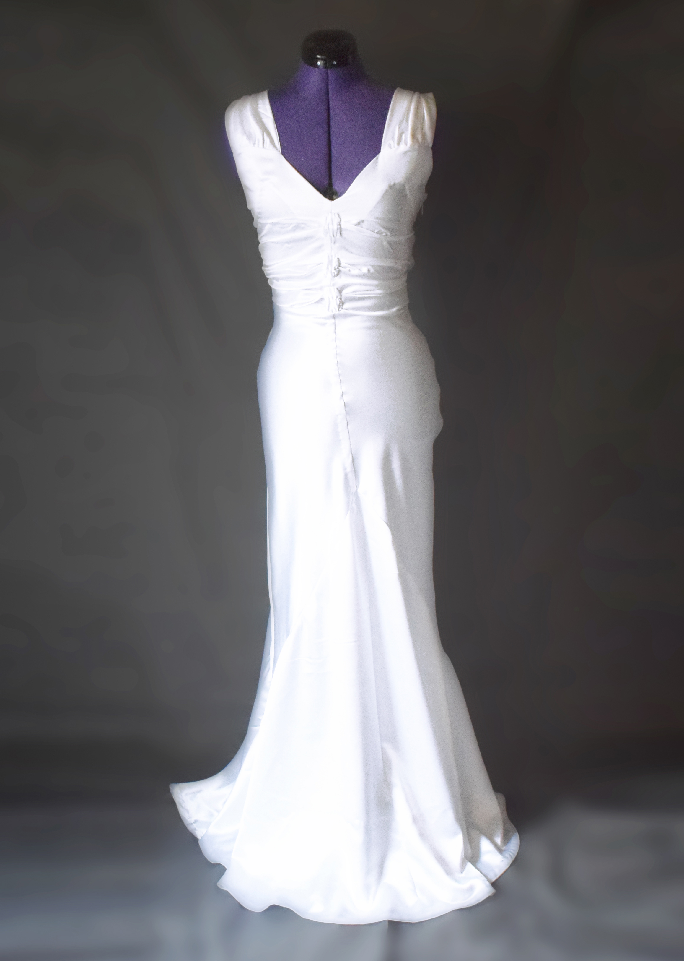 1940's Inspired Wedding Dress