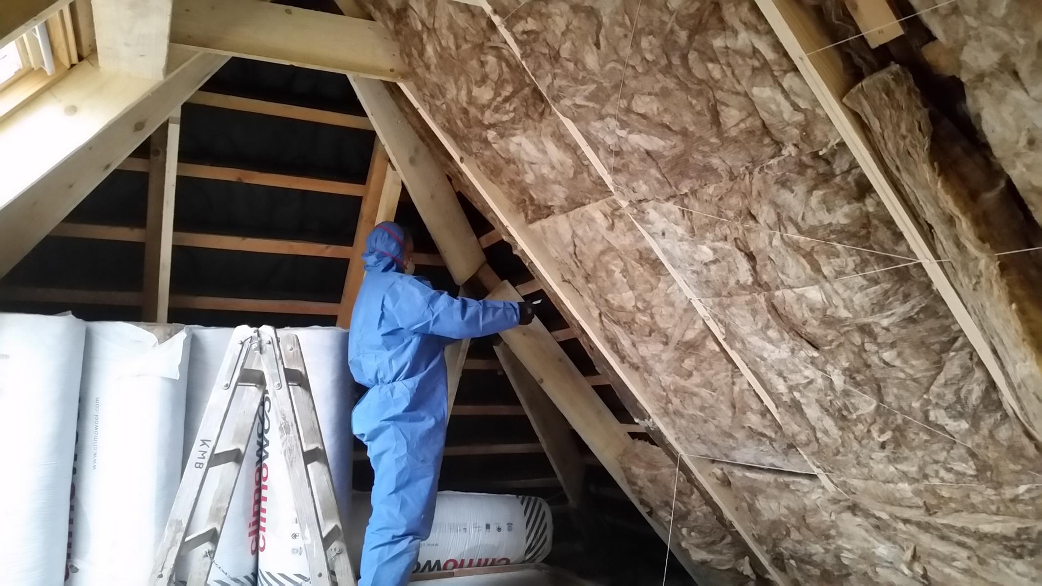 Dachboden isolieren
