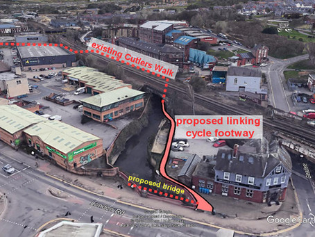 London Road/Chesterfield Road highway improvements