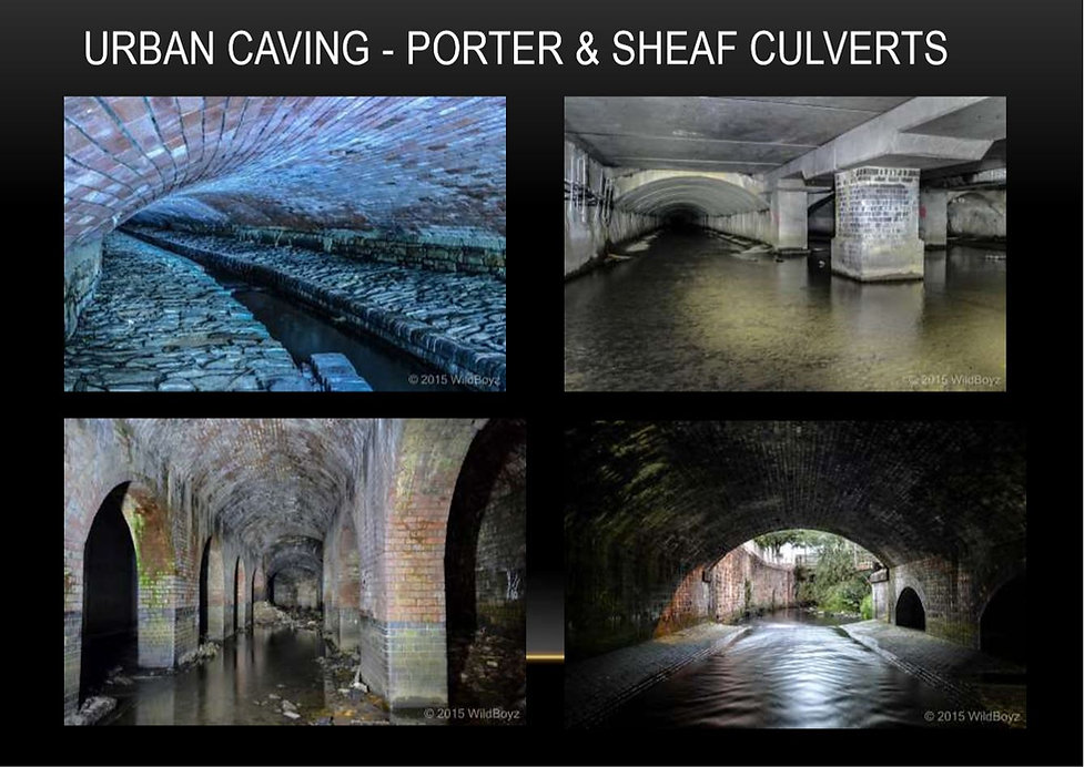 Urban Caving - Porter and Sheaf Culverts