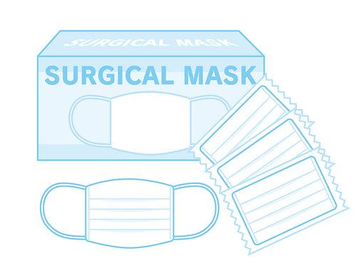 中国製 使い捨てマスク 50枚入り