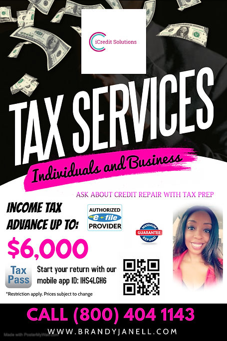 Copy of iCredit Solutions Tax Season - M