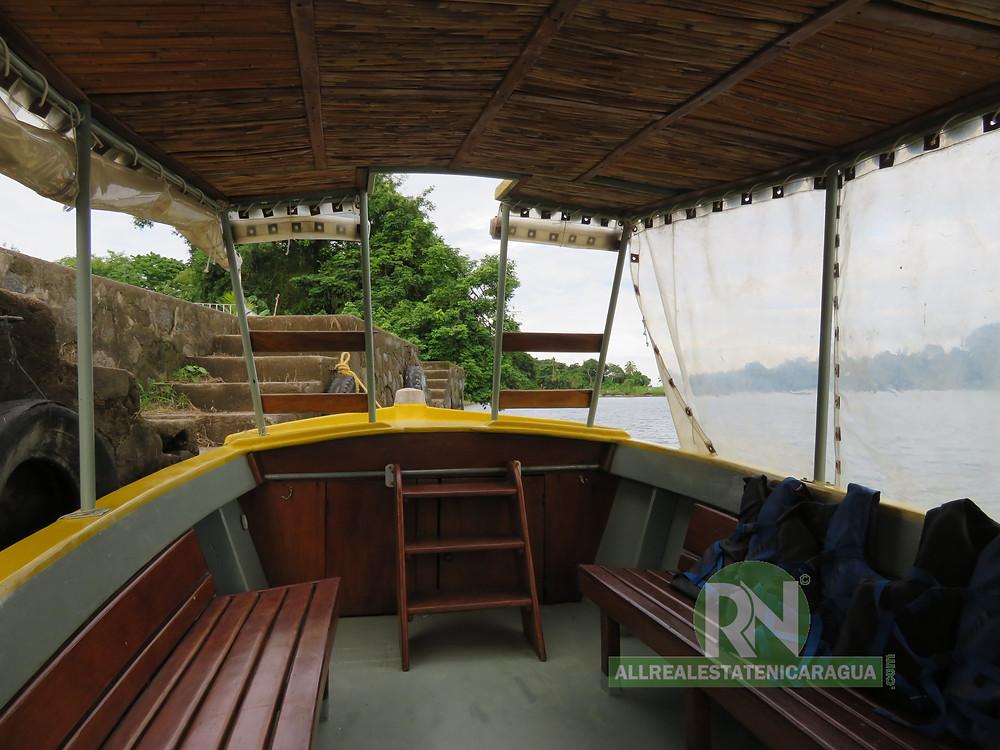 Boat tour on the Isletas