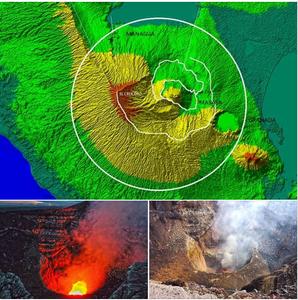Volcan Masaya by Byron Ortega