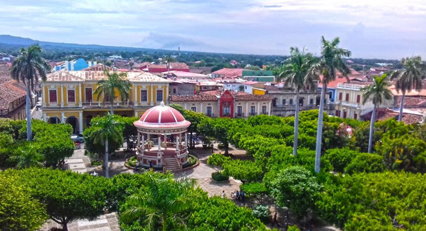 Parque Colon Granada Nicaragua