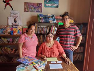 Puedo Leer Interview at library in Granada Nicaragua