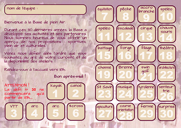 passeport animations anniversaire