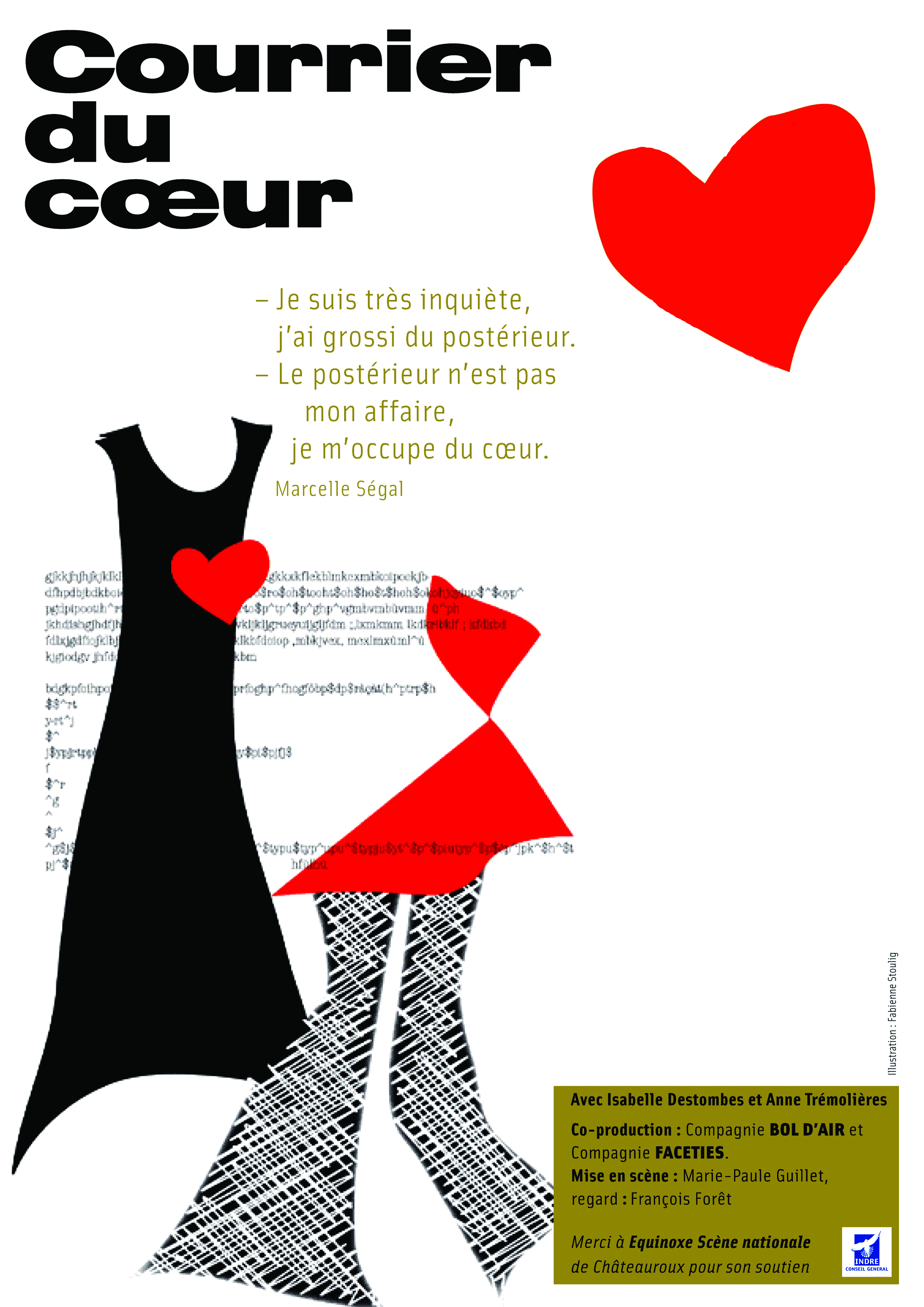 Affiche Courrier du Coeur