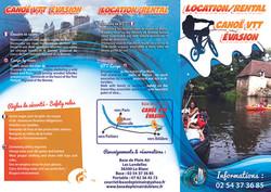 brochure location kayak VTT
