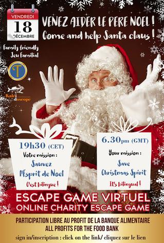 Escape Game virtuel de Noël !! avec Les Trobadors