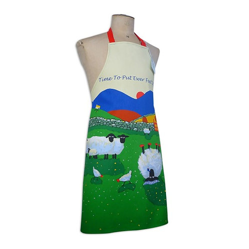 'TIME TO PUT EWE'RE FEET UP' Apron by Thomas Joseph