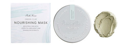 Bath House Green Clay Nourishing Mask