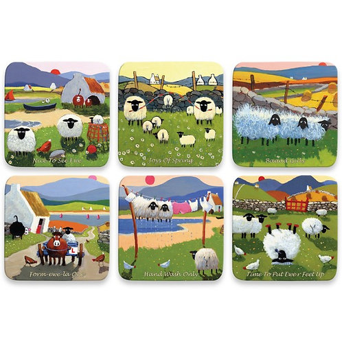 Coaster Set 2 by Thomas Joseph