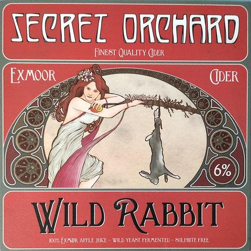 Secret Orchard Wild Rabbit - Draught Cider/Litre