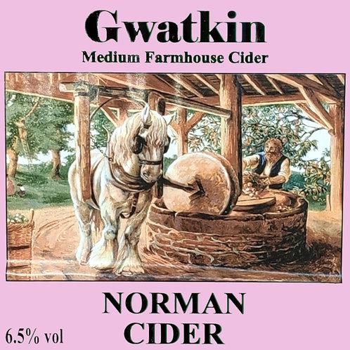 Gwatkin's Norman Cider -  Draught Cider/Litre