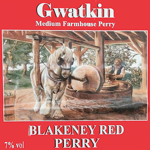 Gwatkin's Blakeney Red -  Draught Perry/Litre